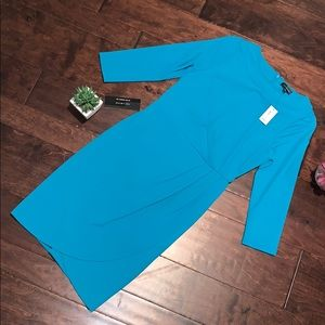 NWT, Teal Dress from The Limited size 0